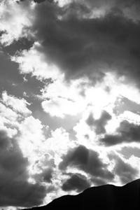 モクモクと広がった雲